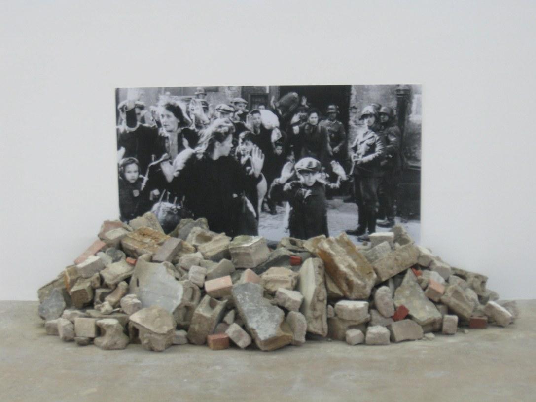 "photo of Gustav Metzger's ""Historic Photographs: No1"""
