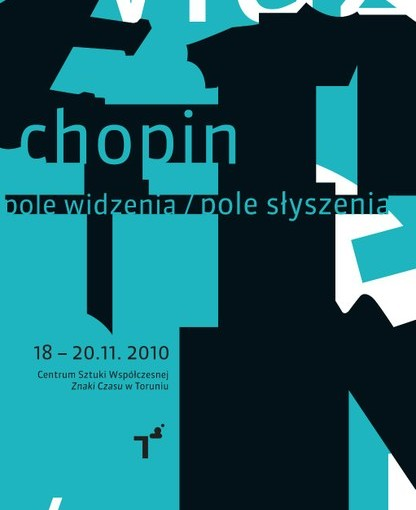 Poster promoting Chopin Festival