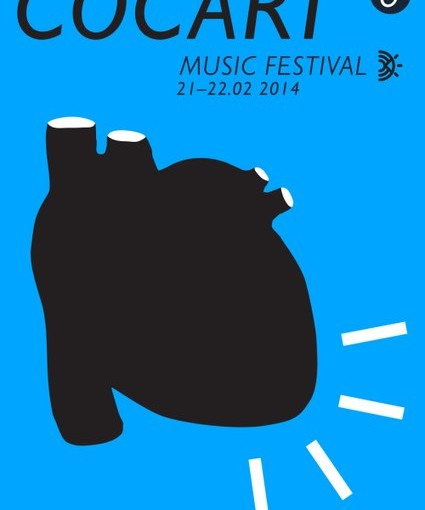 Poster promoting 6 CoCArt Music Festival