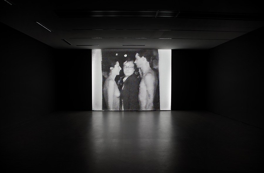 photo of Marina Abramović & Ulay's work
