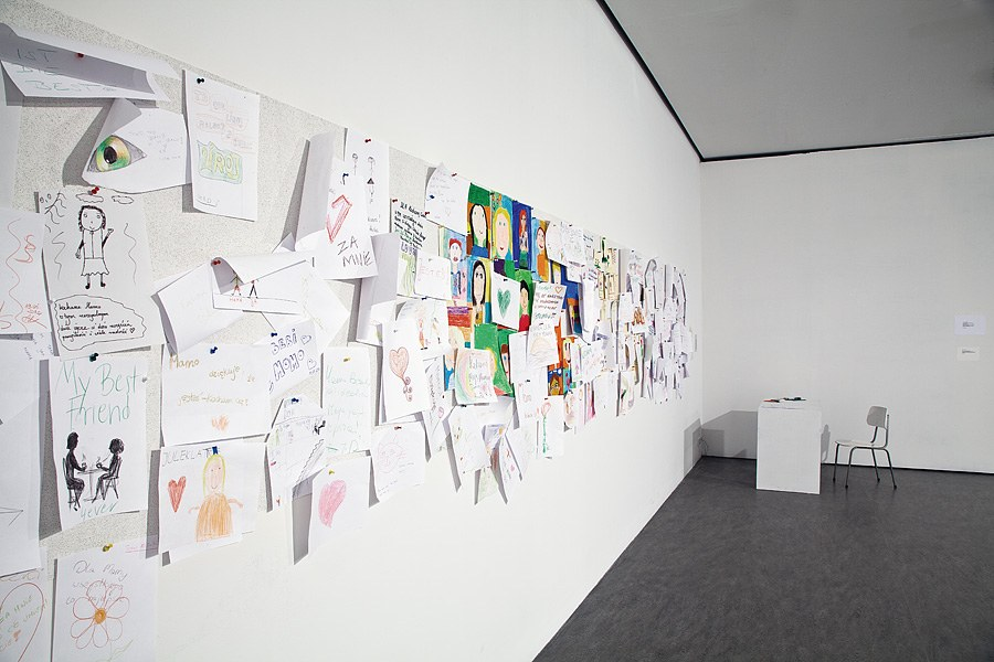 photo of Yoko Ono's work